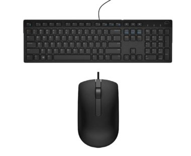 Dell Wired Keyboard and mouse