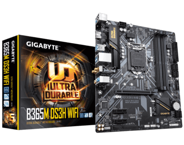 Gigabyte-B365M-DS3H-WIFI-Motherboard-View